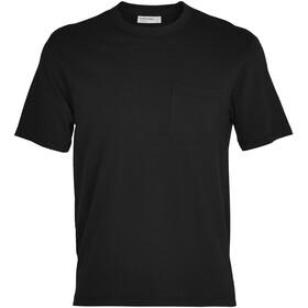 Icebreaker Rye Lane T-shirt Herrer, sort
